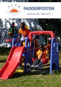 Førstesiden av fadderposten våren 2014
